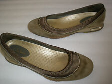 COLE HAAN NIKE AIR LEATHER FLATS US 7.5  HOT UNIQUE  MUST HAVE