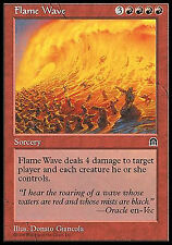 Flame Wave X4 EX/NM Stronghold MTG Magic Cards Red Burn Removal