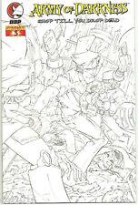 ARMY OF DARKNESS: SHOP TIL YOU DROP DEAD #3 Cool 1/20 sketch VARIANT! NM