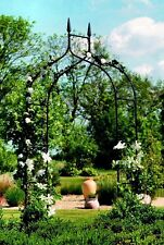 Gardman Black Metal Gothic Garden & Rose Arch Archway