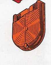 Plastica fanalino posteriore arancio Fiat 1300/1500 Berlina