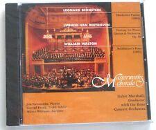 NEW Masterworks Chorale Marshall  Williams Nakamatsu Frank CD Bernstein Walton