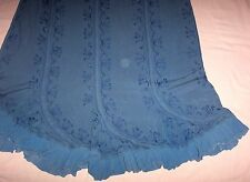 HOLYCLOTHING Embroidered/embellished beautiful RAYON FABRIC Skirt Remake/Recycle
