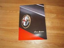 Alfa Romeo Cuore Sportivo Car Brochure