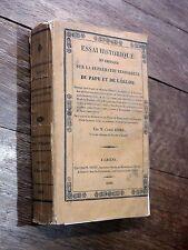 Affre - Essai sur la suprématie temporelle du Pape & de l'Église 1829 LAMENNAIS