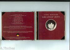 Linda Ronstadt Greatest Hits USA PDO Target Asylum No Barcode Rare CD 1985