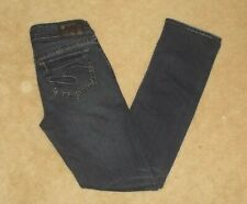 "Women's Buckle Silver jeans size 0 W25/L31"" AIKO Baby Boot New"