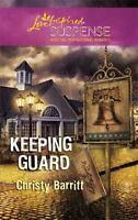 Keeping Guard Mass Market Paperbound Christy Barritt