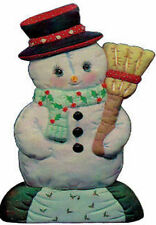 Ceramic Bisque Ready to Paint Softie Snowman ~lights up ~electric included