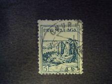 SPAIN - SPANISH CIVIL WAR PRO MALAGA 5cts USED
