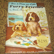 How to Draw our LITTLE FURRY FRIENDS by Sadako Mano Walter Foster Art Book