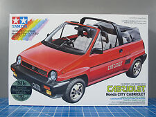 New Tamiya scale 1/24 1984 HONDA CITY CABRIOLET Model Kit 80's Masterpiece model