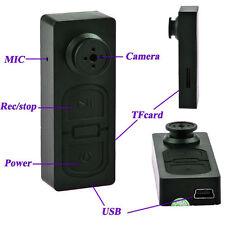 New Button pinhole Camera Spy Hidden Camcorder Mini DVR Surveille Video Recorder