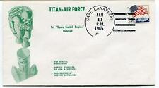 1965 Titan Air Force 1st Space Switch Engine Orbited Cape Canaveral USA SPACE