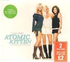 Atomic Kitten Ladies Night CD Single 8b