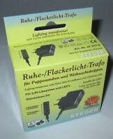 Steger Ruhe- und Flackerlicht-Trafo für Weihnachtskrippen - 3,5Volt  --NEU--