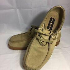 Lugz Men's Size 10 MWAYS2911 Golden Wheat Slip Resistant Boots Lace Up Shoes