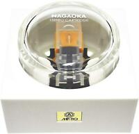 Nagaoka cartridge MP-110 Cartridge ONLY Elliptical chip Bonded diamond NEW