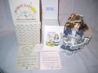 """""""Molly"""" World Gallery Doll by Susan Stone Aiken Signed Numbered & Lemonade Stand"""
