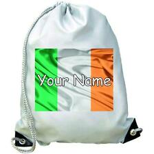 Irish Flag Dance / Gym / Swim / PE Bag Personalised With Your Childs Name