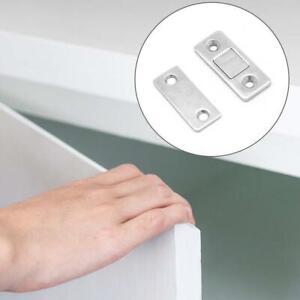Punch-free magnetic suction closet kitchen cabinet sliding door strong door F6X8
