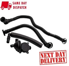 Crankcase Breather Vent Valve + Hose Kit fit BMW E46 N42 N46 Engine 316i 318i
