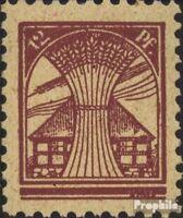 Sowjetische Zone (All.Bes.) 17 gestempelt 1945 Mecklenburg 1.Ausgabe