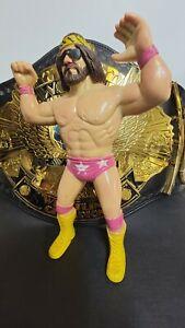 WWF WWE Macho Man Randy Savage Vintage LJN Wrestling Superstars Action Figure