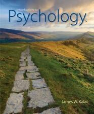 Introduction to Psychology by James W. Kalat (2016, Hardcover)