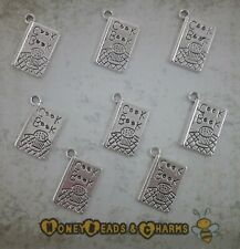 ❤ Cook Book Charms ❤ Pack of 10 ❤ CRAFTING/JEWELLERY MAKING ❤