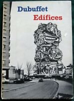 EDIFICES by French Artist Jean Dubuffet  1968 MOMA Book