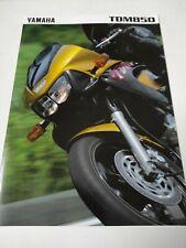 Yamaha TDM 850 de 1998 Prospectus Catalogue Brochures Motos