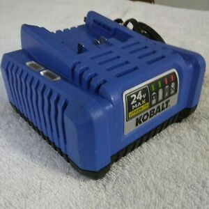 KOBALT KRC 24V Max Lithium-Ion Battery Charger 2445-03 Pre-Owned TESTED WORKS!!!