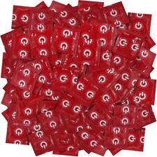 Frei Haus: 500 ON) Kondome mit Erdbeer Aroma - Rot