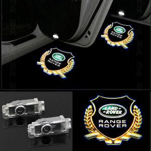 For Land Rover Range Rover 2X HD LED door step courtesy laser projector lights