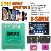 RSIM 14 12+ 2019 R-SIM Nano Unlock Card for iPhone X/8/7/6/6s/5S 4G iOS 12.4 Lot