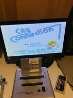 🔥100% WORKING NINTENDO NES RARE FUN CLASSIC Game Cartridge CITY CONNECTION 🔥
