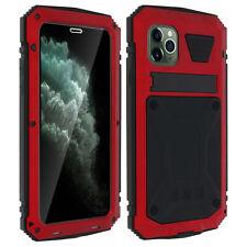 Coque iPhone 11 Pro Aluminium Silicone Support Vidéo Tank Series Rouge
