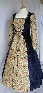 Medieval Dress Renaissance Gown Medieval Costume Custom Made to size