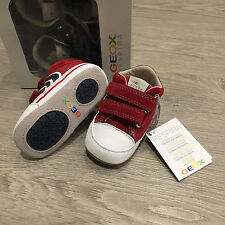 BNIB Genuine Leather GEOX Baby shoes Size UK 3 EU19 100% Genuine
