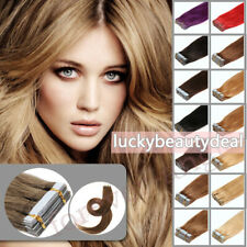 Comfortable Double Side Tape in Remy Brazilian Human Hair Extensions Skin Wefts