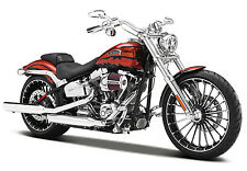 Harley Davidson Model 2014 CVO Breakout Maisto Motor Bike 1 12