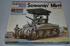 MONOGRAM SHERMAN M4A1 SCREAMIN MIMI #4200