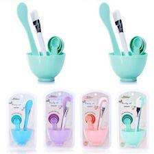 6 IN 1 Makeup Beauty DIY Facial Face Mask Tool Set Mixing Bowl Brush Kit