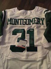 Wilbert Montgomery Philadelphia Eagles  Signed Jersey PSA DNA