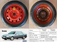 RUOTINO DI SCORTA FIAT CROMA 2.0ie - 2.0ie16V - 2.0TDid - 2.5TD 125/80 R15 95M