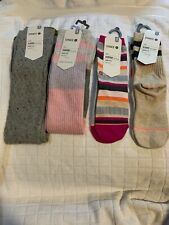 Stance Girls Socks Lot Of 4 Size M/L
