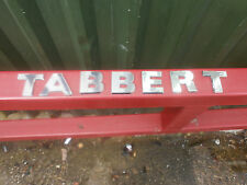 Tabbert 2007 onwards Original Caravan External Lettering