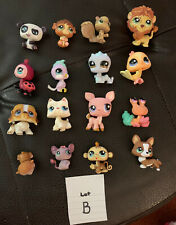 Littlest Pet Shop LPS Dog Panda Monkey Lot (B)