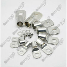 Tinned Copper AWG Cable Lugs Ring Terminals Welding Battery Marine Cable Wire